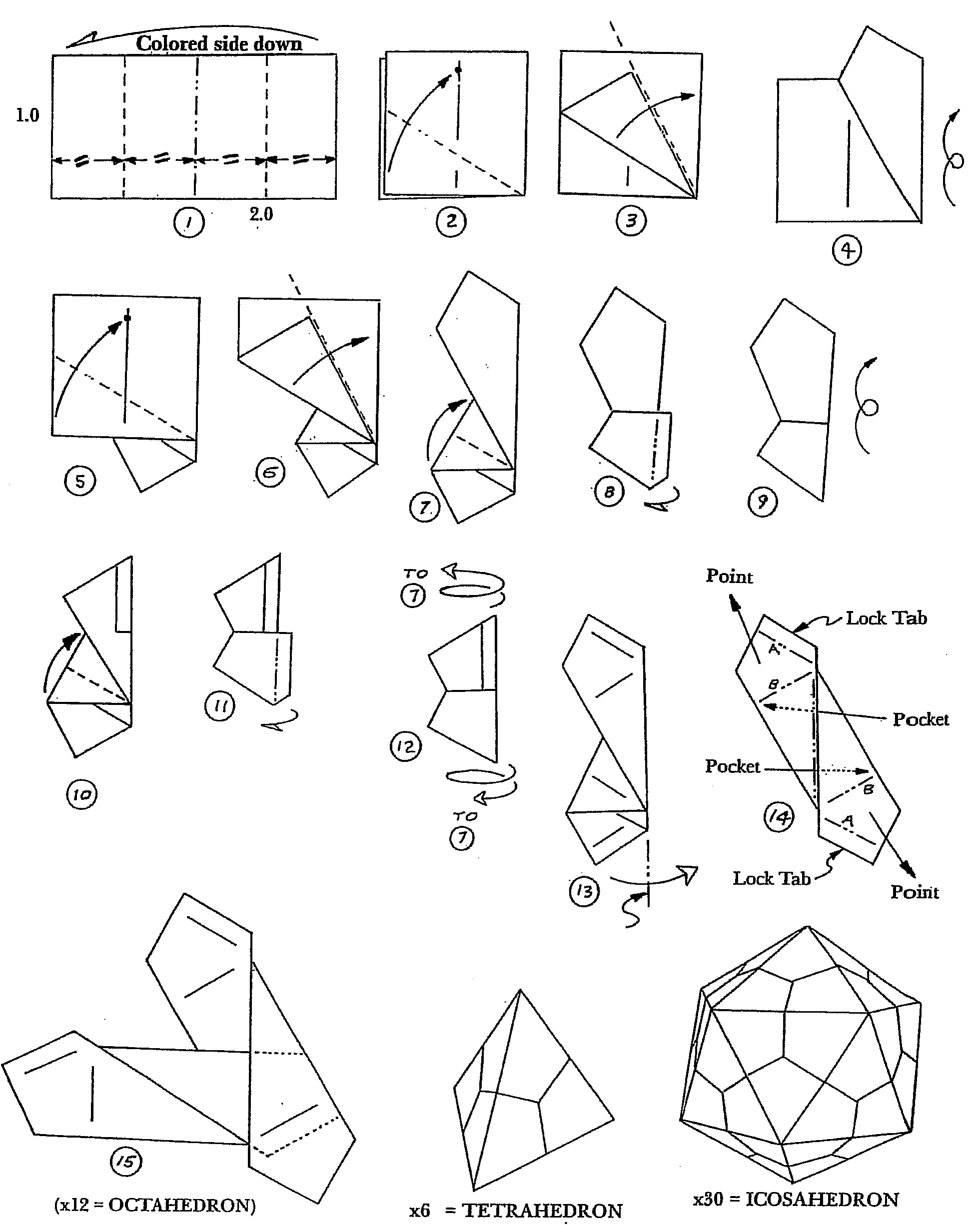 4.8. Icosaedro (Módulo Edge) | La papiroflexia como recurso ...
